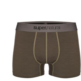 super.natural Base Mid Boxer 175 Hombre, killer khaki/bamboo